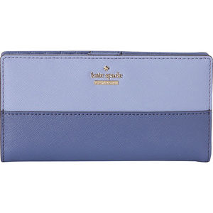 kate spade Bags - Kate Spade Blue Cameron Street Stacy Wallet